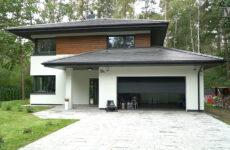 Zdjęcie przedstawia nowy dom