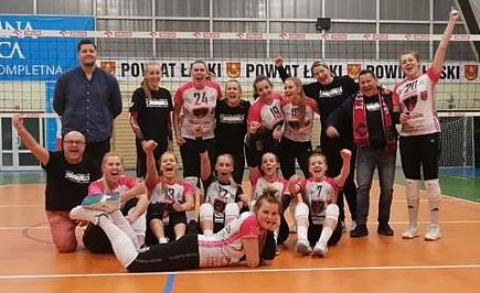 Na zdjęciu zespół oraz trenerzy VIP-Gwarant