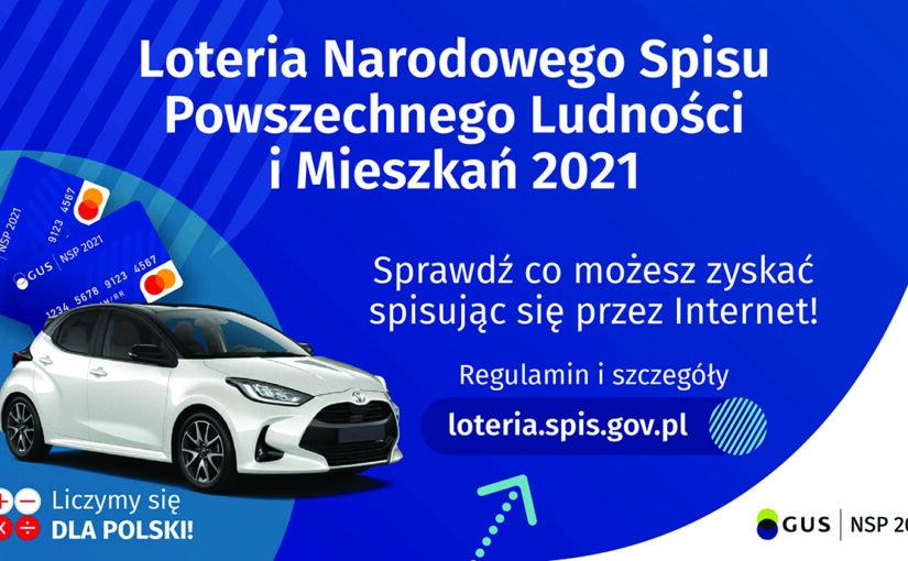 Reklama loterii spisowej