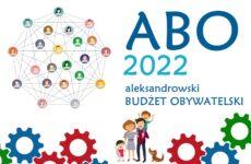 Grafika promująca Aleksandrowski Budżet Obywatelski 2022